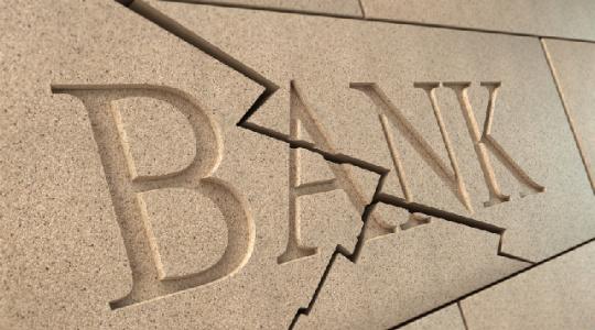 Quiebra de CaixaBank y Banco Sabadell